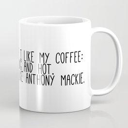 Anthony Mackie is my coffee Coffee Mug