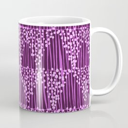 Dots + Stripes - Orchid Coffee Mug