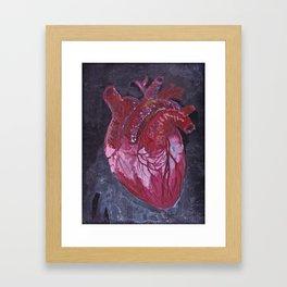 Tear my heart out Framed Art Print