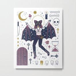 The Gatekeeper Metal Print