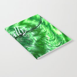 I´m Actually A Mermaid - Green Notebook