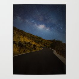 Road to the Milky Way Poster