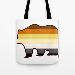 Gay Bear Tote Bag
