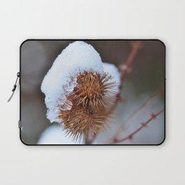 Snowy Burrs Laptop Sleeve