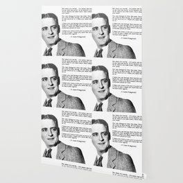 F Scott Fitzgerald quotes - For what it's worth Wallpaper