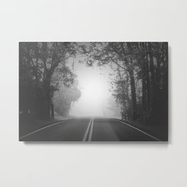 The Path Untraveled Metal Print