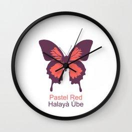 Ulysses Butterfly 3 Wall Clock