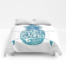 You had me at Aloha! Comforters