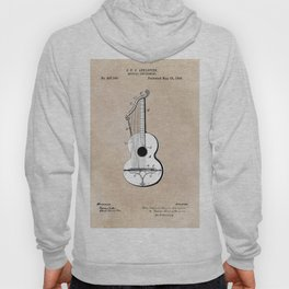 patent art Abelspies 1893 Musical Instrument Hoody