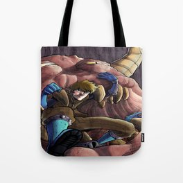 Emerging from the Pits Tote Bag