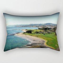 Fossil Bluff - Tasmania - Australia Rectangular Pillow