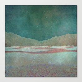 Softly she Lay... Canvas Print