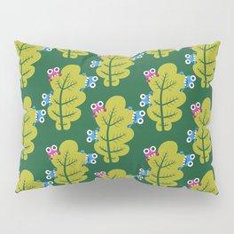 Bugs Eat Green Leaf Pillow Sham