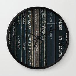 Joy Division Album In Book Form Print Wall Clock