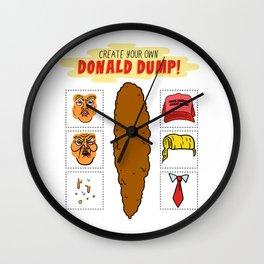 DIY Donald Dump Wall Clock