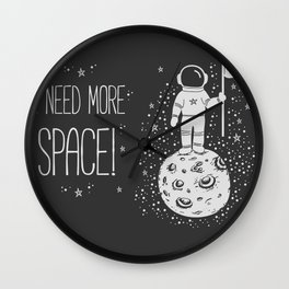 I need more space! Wall Clock