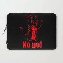 No Go! Laptop Sleeve