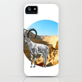 Nubian Ibex iPhone Case
