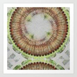 Unqualification Configuration Flower  ID:16165-051033-17830 Art Print
