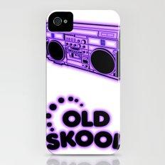 Old Skool iPhone (4, 4s) Slim Case