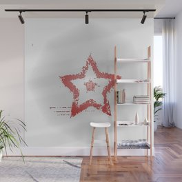 Falling Star Wall Mural