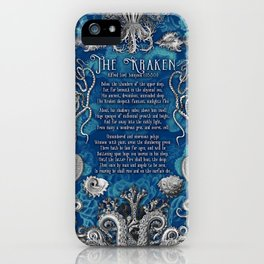 The Kraken (Blue) iPhone Case