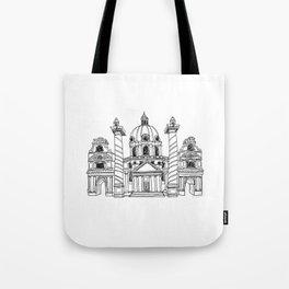 Karlskirche Tote Bag