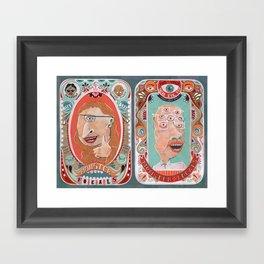 Monster Focals Framed Art Print