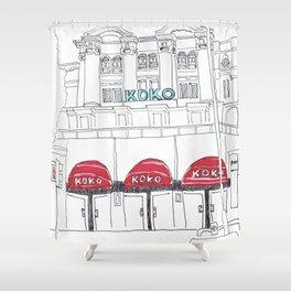 KOKO in London Shower Curtain