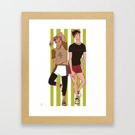 bokuro Framed Art Print