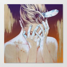 It hurts… (Duele) Canvas Print