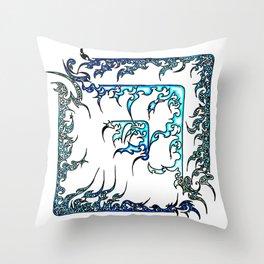 Blue Diamond (1) Throw Pillow