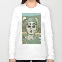 swim Long Sleeve T-shirts featuring SWIM by Camila Fernandez