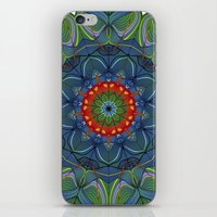siren iPhone & iPod Skins featuring Siren by Angelo Cerantola