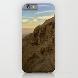 Masada View iPhone Case