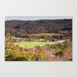 Down In The Valley - Natchez Trace Canvas Print