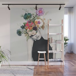 Floral beauty Wall Mural
