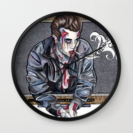 Zombie James Dean Wall Clock
