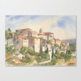 Gordes, France Canvas Print