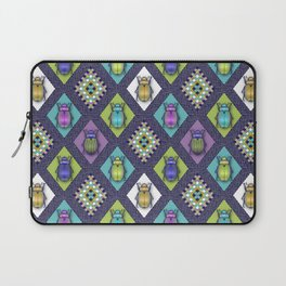 Scarabs Quilt Laptop Sleeve