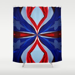 Time Passes Shower Curtain