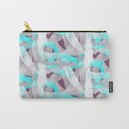 Out of the blue pattern Carry-All Pouch