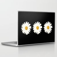 daisy Laptop & iPad Skins featuring Daisy by nessieness