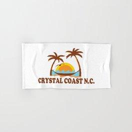 Crystal Coast - North Carolina. Hand & Bath Towel