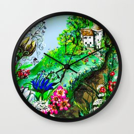 Enchanted Return Wall Clock