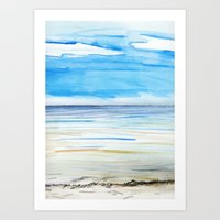 Changing weather Art Print