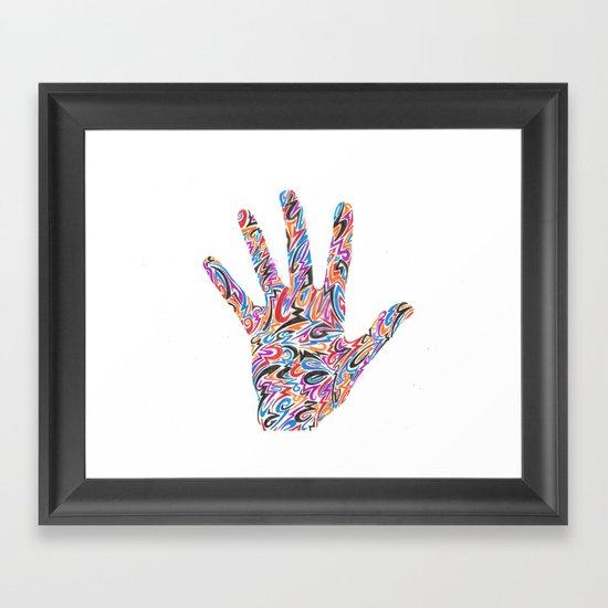 Hand  Framed Art Print
