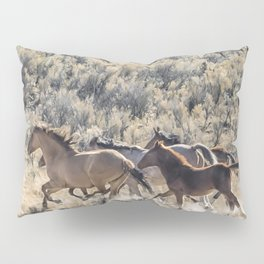 Running Mustangs, No. 1 Pillow Sham