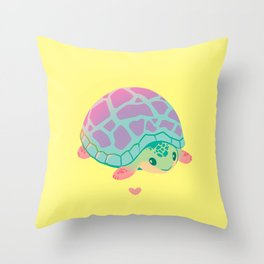 Baby Turtle Throw Pillow