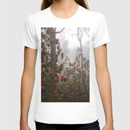 Rhododendron Red T-shirt